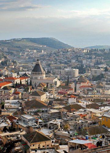 Nazareth the city of Jesus