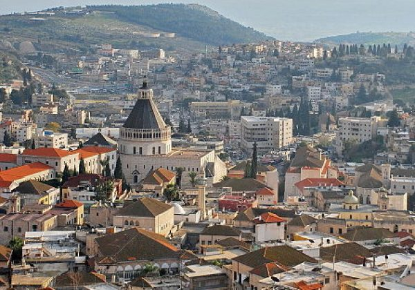 Nazareth the city of Jesus
